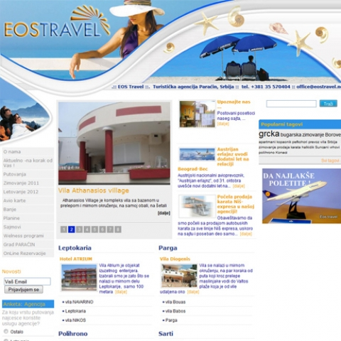 Eos travel doo