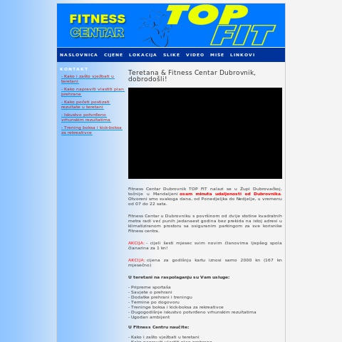 Top Fitness.hr