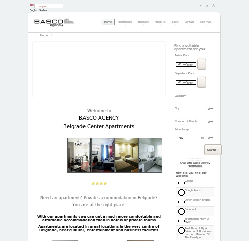 Basco Agency Belgrade Apartments