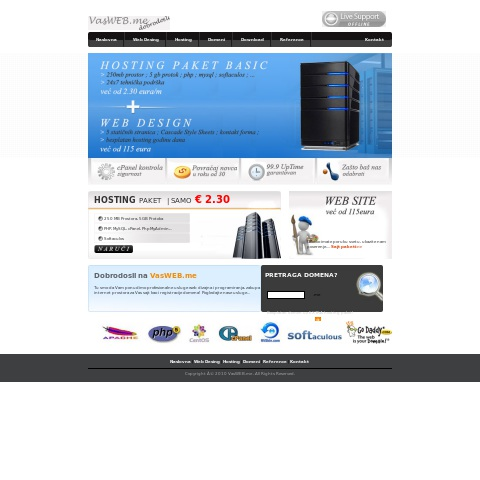 VasWEB Hosting Solutions