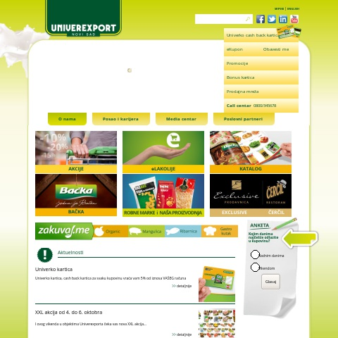 Univerexport supermarket