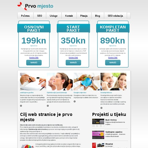 SEO optimizacija web stranica